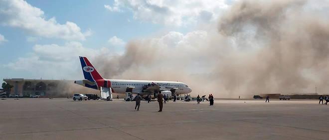 Conséquence du conflit au Yémen : Explosion à l'aéroport d'Aden