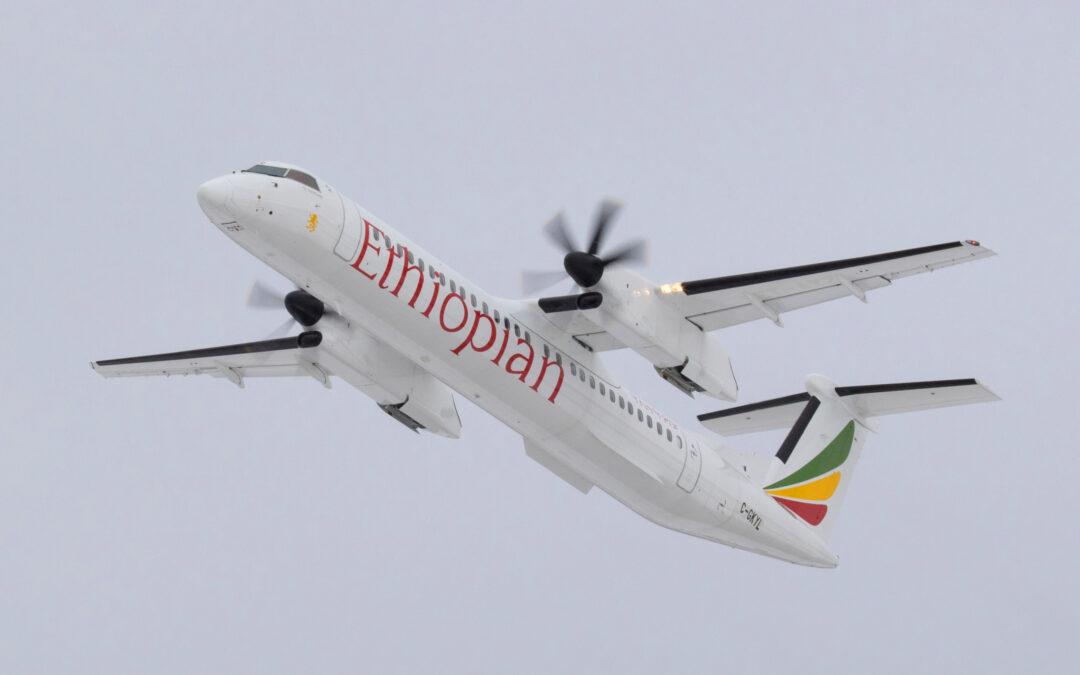 Ethiopian Airlines prend livraison de son 31ème Dash 8-400 : Le constructeur canadien Bombardier explique les atouts de l'appareil