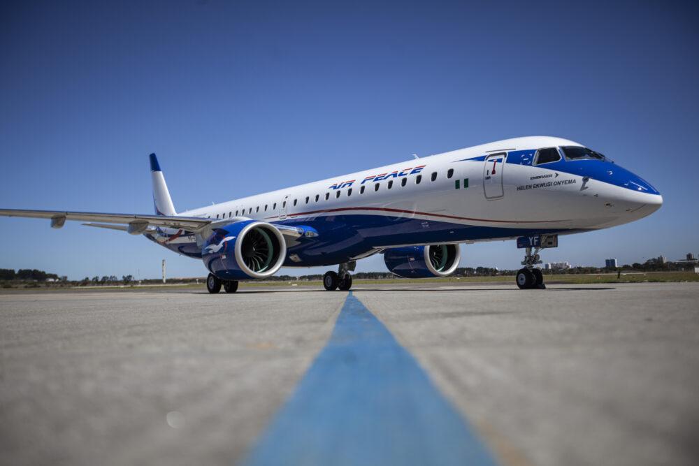 Le premier E195-E2 d'Air Peace :  Une première pour une compagnie africaine