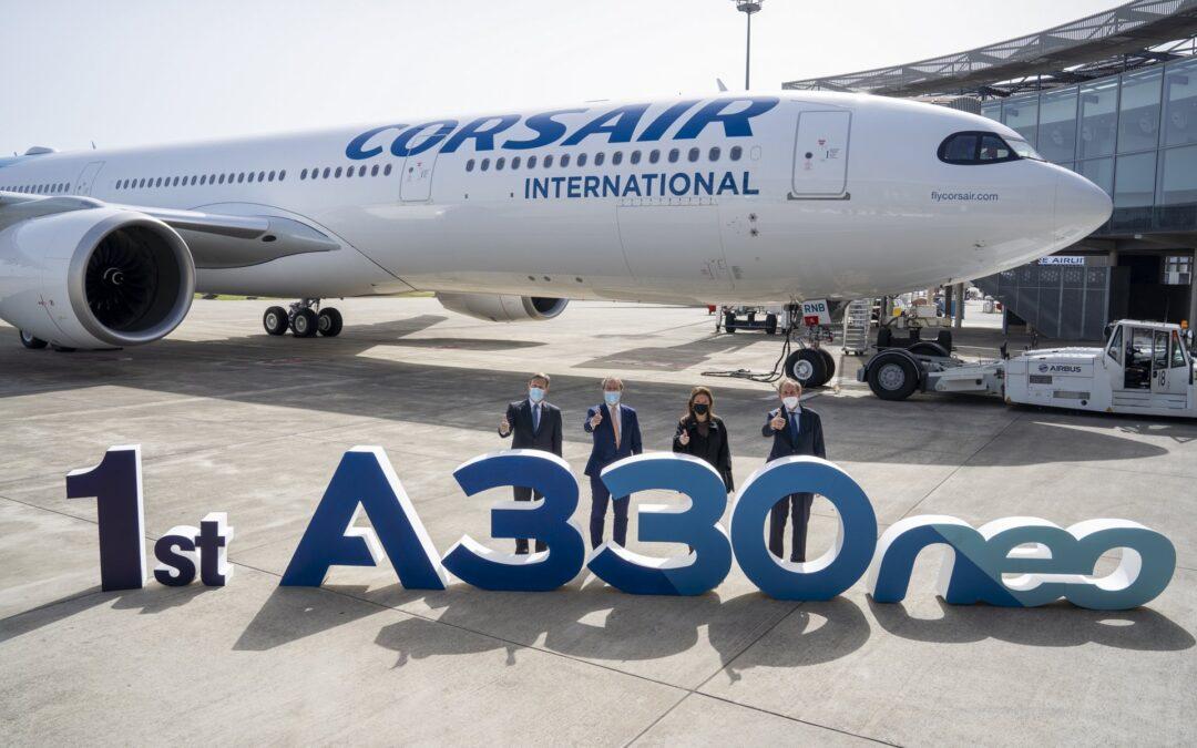 Flotte : Corsair prend livraison de son premier A330neo