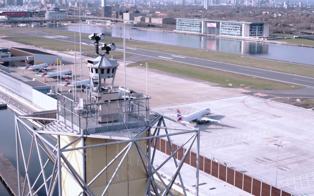 Innovation : l'aéroport de London City lance un contrôle du trafic aérien numérique télécommandé