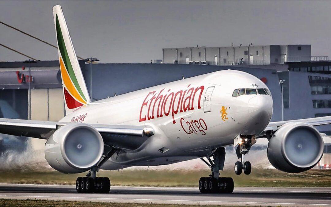 Cargo : Ethiopian remporte un prix d'or pour le volume de fret