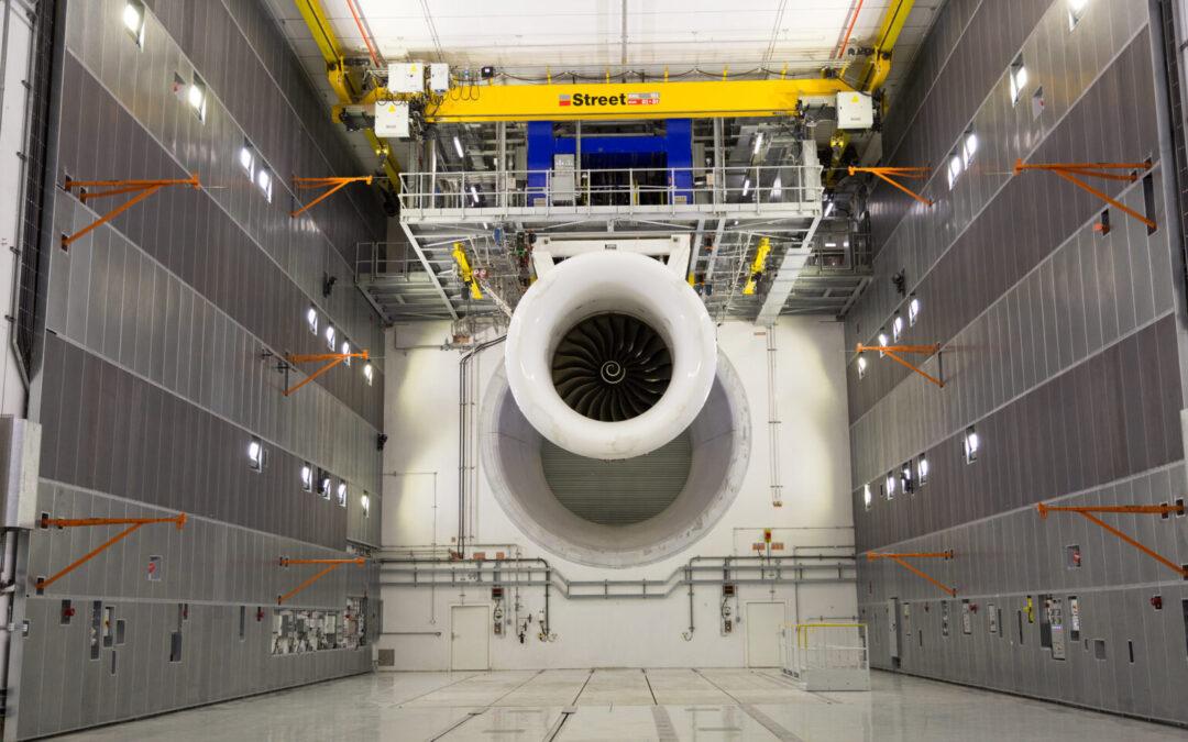 Aéronautique : Rolls-Royce ouvre le plus grand banc d'essai intérieur de moteurs au monde