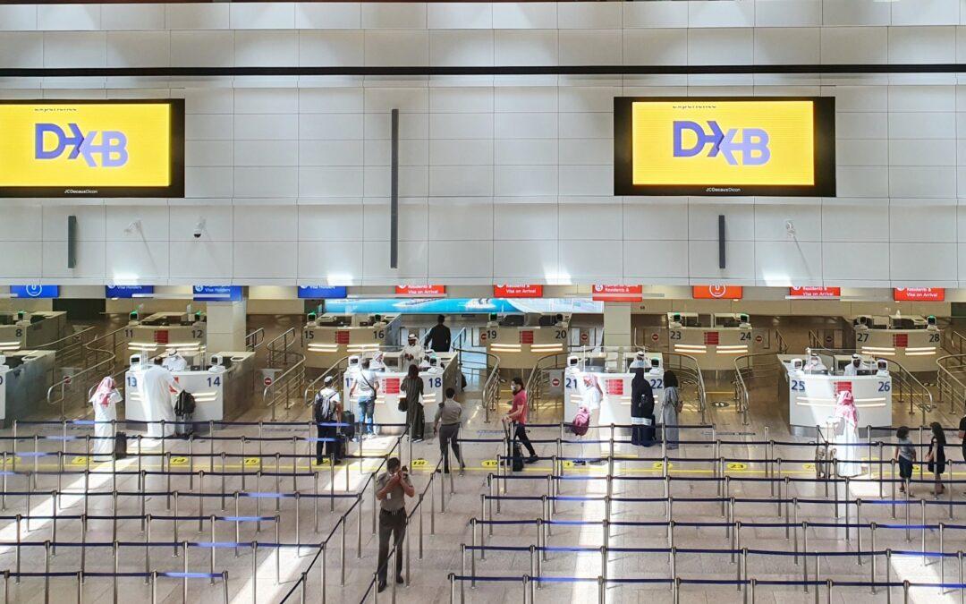 Réouverture : Le terminal 1 de l'aéroport international de Dubaï rouvre ses portes et accueille ses premiers passagers depuis 15 mois