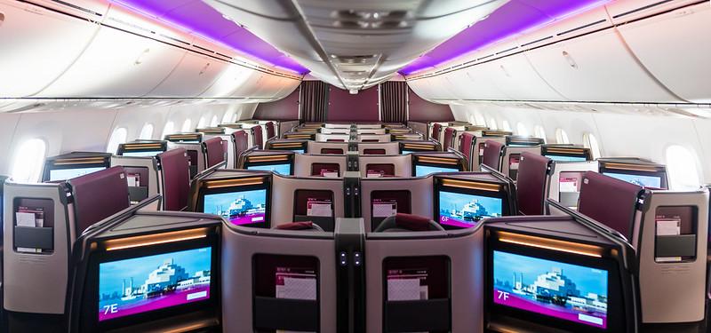 Avion : Qatar Airways présente le Boeing 787-9 Dreamliner de nouvelle génération doté d'une nouvelle suite de classe affaires