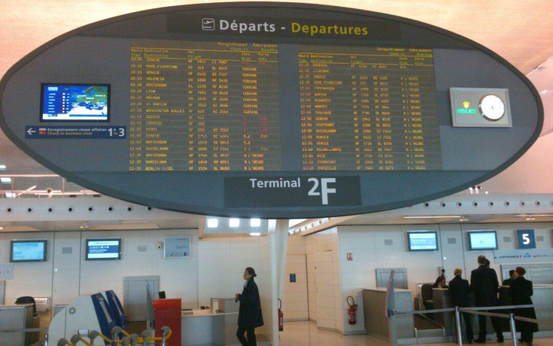 Impact Covid : L'aéroport de Roissy CDG a perdu plus de 440.000 vols depuis mars 2020