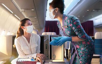 Sécurité sanitaire à bord : Les passagers tout- confiants continuent de soutenir le port du masque