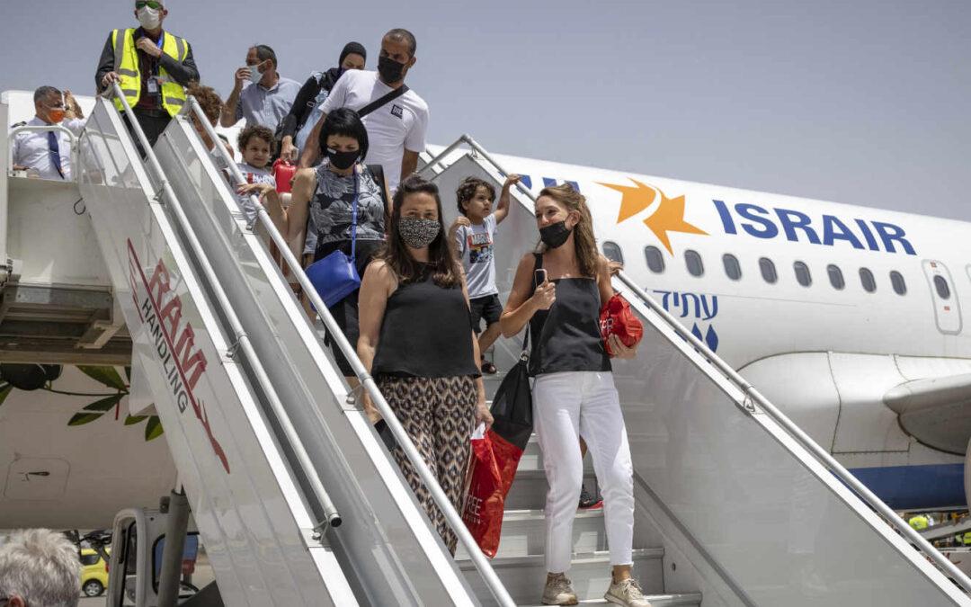 Liaison aérienne : Le premier vol commercial direct entre Israël et le Maroc a atterri à Marrakech