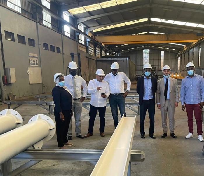 Construction d'un Centre de maintenance aéronautique (MRO) à l'aéroport Dakar Blaise Diagne : Une mission du Top management du hub aérien du Sénégal en mission à Dubaï et Casablanca