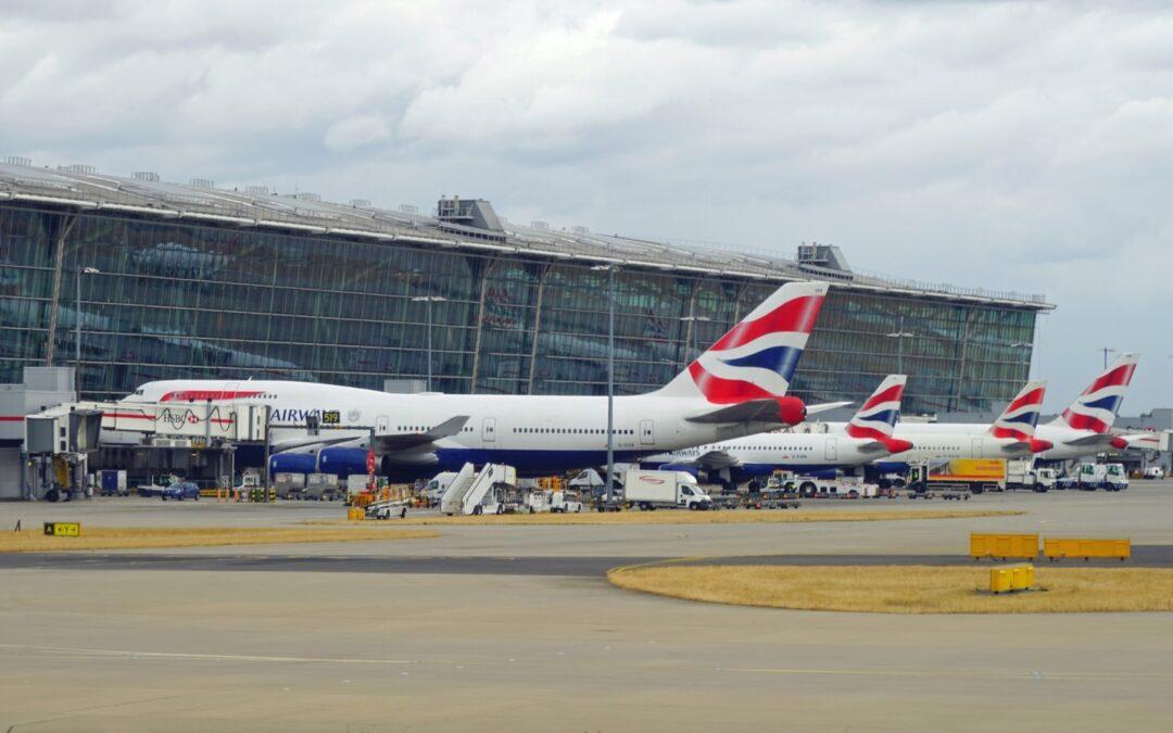 Reprise post covid : Le secteur de l'aviation britannique reste à la traine par rapport à l'Union européenne